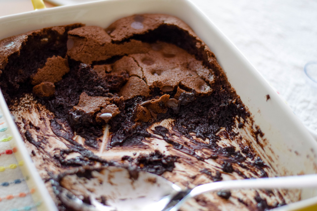 brownie pudding-8