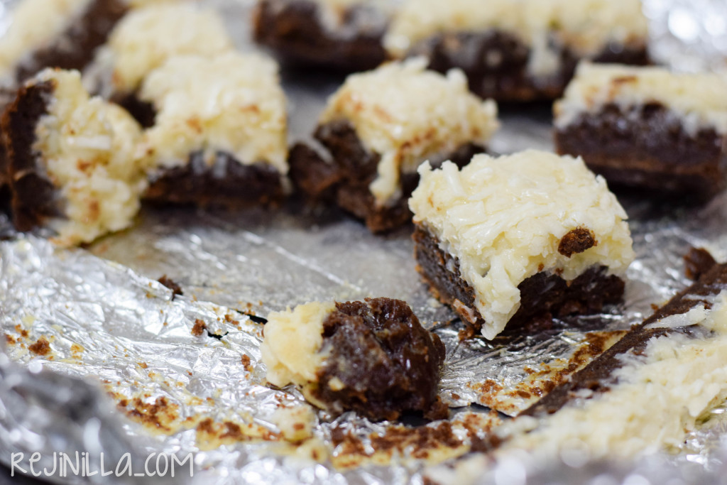 brownies con coco-6