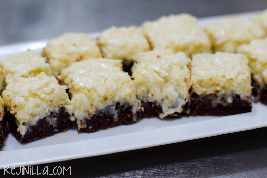 brownies con coco-7