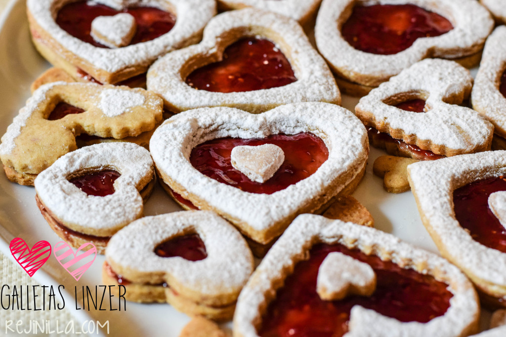 linzer cookie valentin